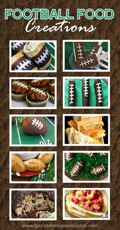 Watching a game or throwing a football party? Try one of these quick and easy football food ideas--sure to be a hit with everyone!