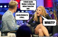 Justin Bieber is a boy