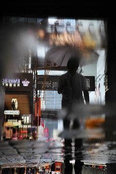 Christophe Jacrot: Hong Kong in the Rain series