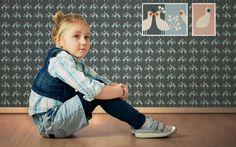 Tapete My little princess, love light - Designer Tapeten DecorPlay Love And Light, Little Princess, Kids Room, Wallpaper, Children, Face, Design, Wallpapers, Young Children