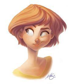 Smirk by NatSmall (Natasha Small) Cartoon Style, Character Design Cartoon, Character Design References, Character Design Inspiration, Cartoon Art, Character Art, Character Illustration, Illustration Art, Girl Pose