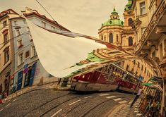 Turn The Page Of Past Day. Prague Streets Photograph by Jenny Rainbow Art Prints For Home, Fine Art Prints, Framed Prints, Multiple Exposure, T Art, 14th Century, Art Market, Prague, Fine Art Photography