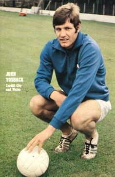 July Cardiff City and Wales centre forward John Toshack, at Ninian Park. Cardiff City Football, Cardiff City Fc, Football Icon, Retro Football, Gary Speed, Welsh Football, Laws Of The Game, Football Images, Association Football