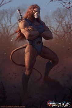 Lion-O by Dave Rapoza!