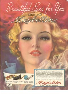 PIN UP GIRLS IN VINTAGE ADS: When Advertising Boasted of Curves The Maybelline Company was created by a 19 year old entrepreneur named Tom Lyle Williams in 1915. Williams noticed his older sister Mabel applying a mixture of Vaseline and coal dust to her eyelashes to give them a darker, fuller look. He adapted it with a chemistry set and produced a product sold locally called lash-in-brow-line. Williams renamed his eye beautifier Maybelline, in honor of his sister Mabel, who gave him the…
