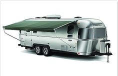 Airstream Eddie Bauer Edition. He wants to buy one of these for our future travels. I say, OK!