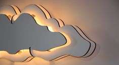CLOUD wall lamp DIY