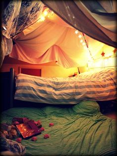 Eve Wanted a Wardrobe: How to Build a Blanket Fort