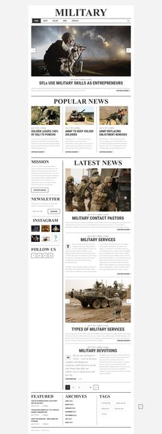 Military Responsive Website Template #58754 http://www.templatemonster.com/website-templates/military-responsive-website-template-58754.html