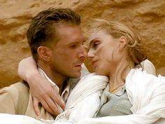 Ralph Fiennes and Kristin Scott Thomas as Count Laszlo de Almásy and Katharine Clifton from Michael Ondaatje's 'The English Patient' The English Patient, Kristin Scott Thomas, Serge Gainsbourg, Movie List, Movie Tv, Fiennes Ralph, Le Patient Anglais, Beloved Book, Dreams