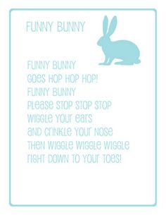 Cute for Easter or to sing with the kids anytime! Preschool Poems, April Preschool, Preschool Music, Easter Activities, Rhyming Poems For Kids, Songs For Toddlers, Kids Songs, Easter Songs For Preschoolers, Easter Songs For Kids