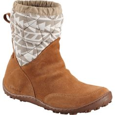 The Columbia Women's Minx Pull On Omni-Heat Print Boot is ready for winter's weather. Its Omni-Tech membrane includes fully taped seams for reliable waterproof breathable protection, and the Omni-Heat lining reflects heat back for a surprising amount of warmth. Columbia also equipped this boot with an Omni-Grip sole for slippery sidewalks and a removable PU footbed for cushy convenience.