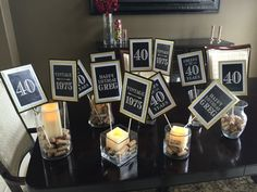 ADULT BIRTHDAY PARTY DecorationsMilestone 40th Birthday50th