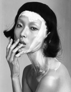 ghesquiereous: Sung Hee Kim by Benjamin Vnuk for Bon #63 Winter 2012