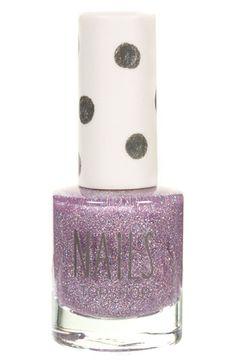 Topshop Glitter Nail Polish available at #Nordstrom