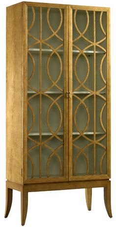 large-scale Qartheen filigree for an armoire
