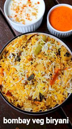 Veg Recipes, Cooking Recipes, Cooking Tips, Comida India, Indian Dessert Recipes, Vegetarian Snacks, Indian Curry, Paella, Veg Biryani Recipe Video