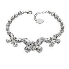 Bijuterii mireasa diademe coliere cercei cristale swarovski accesorii mirese Swarovski Jewelry, Swarovski Crystals, Bracelets, Silver, Charm Bracelets, Bracelet, Bangle, Money