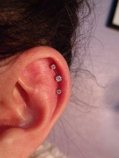 Triple ear piercing