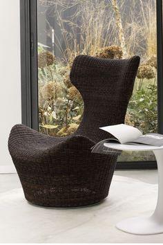 Armchair for entrance room