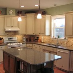 l-shaped kitchen designs with island | accessible family kitchen