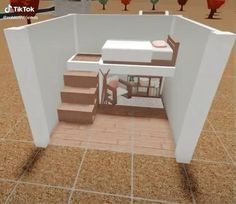 Two Story House Design, Tiny House Layout, House Layout Plans, House Layouts, Tiny House Bedroom, Bedroom House Plans, House Rooms, Home Building Design, Home Design Plans