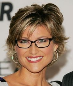 Attractive Short Hairstyles For Women Over 50 With Glasses