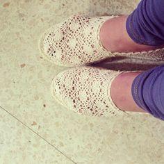 comfy, crochet, espadrille, shoes