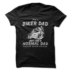 Biker ᐅ DADPerfect gift for any occasion.dad,daddy,father,mamba,papa,pater,normal,cooler,biker,bike,motorcycle,crutch,moped,motorbike,ride,run