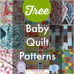 27 Free Baby Quilt Patterns | FaveQuilts.com