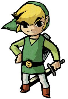 Link - Characters & Art - The Legend of Zelda: The Wind Waker HD