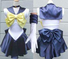 Sailor Uranus Amara cosplay costume Sailor Moon dress Scouts costume