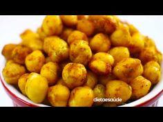 Grão de bico crocante @CookFork - YouTube