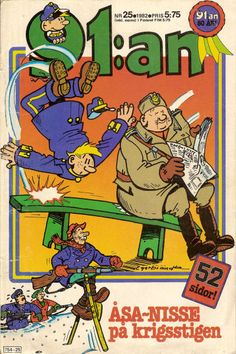 Nils Egerbrandt (11 May 1926  4 February 2005 Sweden) was a comics creator whose career began in the... Nils Egerbrandt (11 May 1926  4 February 2005 Sweden) was a comics creator whose career began in the 1950s at the Centerförlaget studio. During the 1950s he created childrens features such as Mickel och Mackel and Olli. He adapted the fables of Thomas Funck in the feature Kalle Stropp och Grodan Boll in Brumle. In 1960 Egerbrandt took over 91:an (91st) when its creator Rudolf Petersson…
