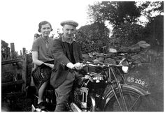 Janet & Bill Pringle [sister & brother also to me Mum & Uncle] circa 1940's at their home, Callelochan farm at Loch Tay side.