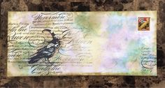 altered envelopes mail art - Google Search