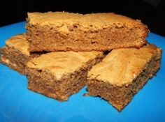 Recipes - Desserts - Chewy Peanut Butter Brownies - Kraft First Taste Canada