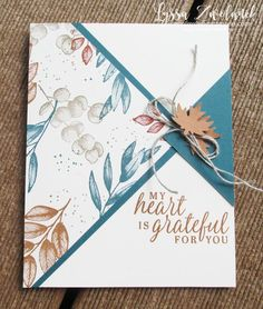 Fancy Fold Cards, Folded Cards, One Sheet Wonder, Stamping Up Cards, Rubber Stamping, Paper Cards, Diy Cards, Fabric Cards, Thanksgiving Cards