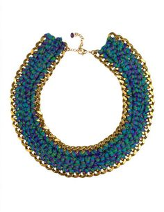 "Henriette Botha necklace from the ""Amused by Klimt' collection"