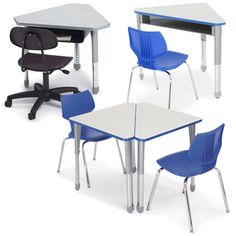 Planner Activity Table Half Moon. See More. SMITH SYSTEM™ Interchange Desks