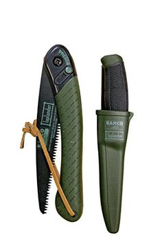 Bahco LAPKNIFE Laplander Folding Saw and MultiPurpose Knife Set * More info could be found at the image url. This is an Amazon Affiliate links.