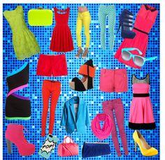 """""""Cheap Pops of Colour!!!"""" by ellesfashionboudoir on Polyvore"""