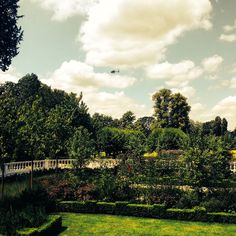 The beautiful grounds of Coworth Park.
