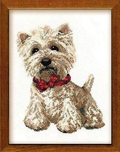 Riolis - Kit completo per punto croce, motivo: West Highland White Terrier, multicolore RIOLIS http://www.amazon.it/dp/B0085MF7X0/ref=cm_sw_r_pi_dp_zTcdwb0JK0TG1