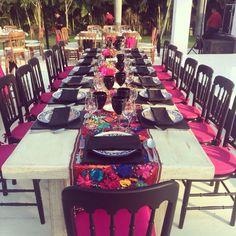 Increíble boda estilo mexicano sin perder el toque súper elegante!