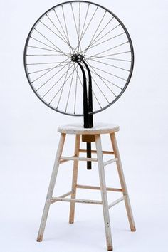 Marcel Duchamp - Bicycle Wheel (Dada)(1913)