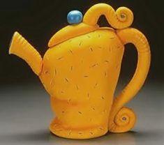 Rebecca Mazur (aka Zimmerman), Sandbag Teapot, 1998