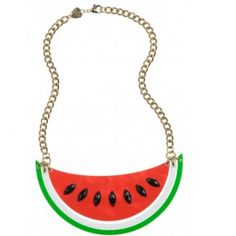 Watermelon Large Necklace