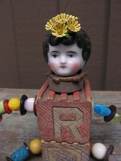 Victorian Steampunk Assemblage Art Doll by SalvageArtSweetheart