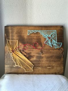 State String Art, Country String Art by PurplePalletDesigns on Etsy